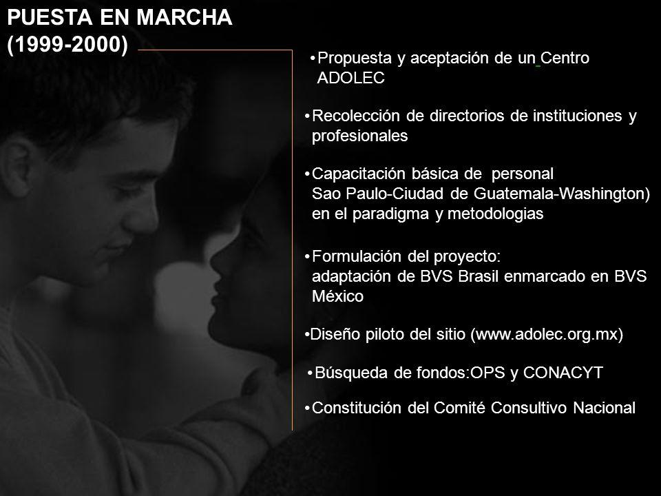 Propuesta y aceptación de un Centro ADOLEC Capacitación básica de personal Sao Paulo-Ciudad de Guatemala-Washington) en el paradigma y metodologias Fo