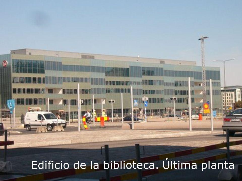 Biblioteca Universitaria Edificio de la biblioteca. Última planta