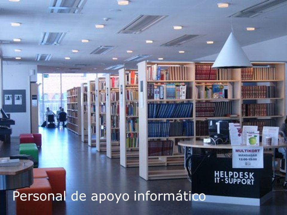 Biblioteca Universitaria Personal de apoyo informático