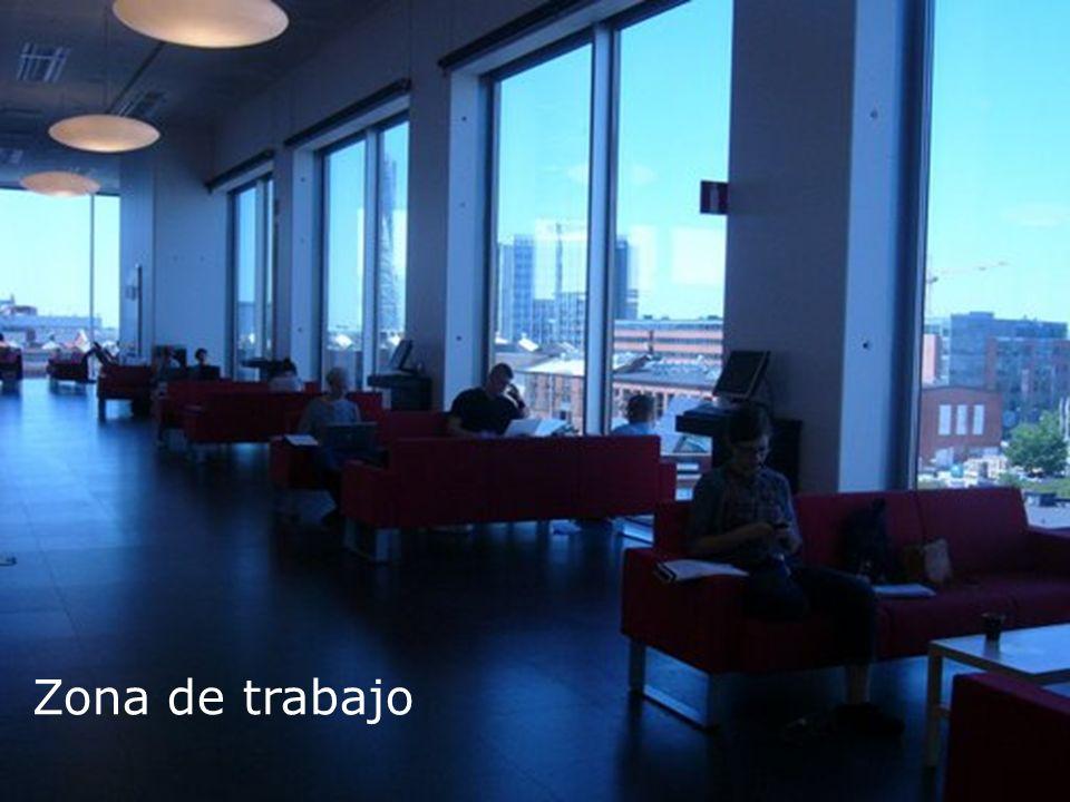 Biblioteca Universitaria Zona de trabajo