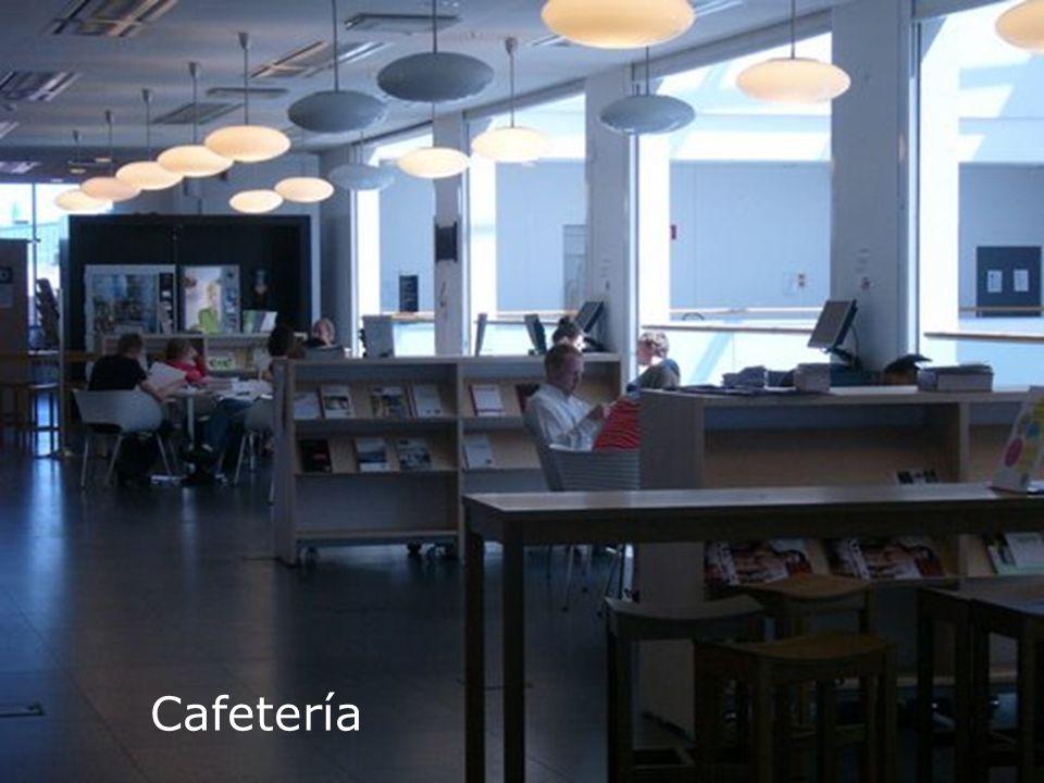 Biblioteca Universitaria Cafetería