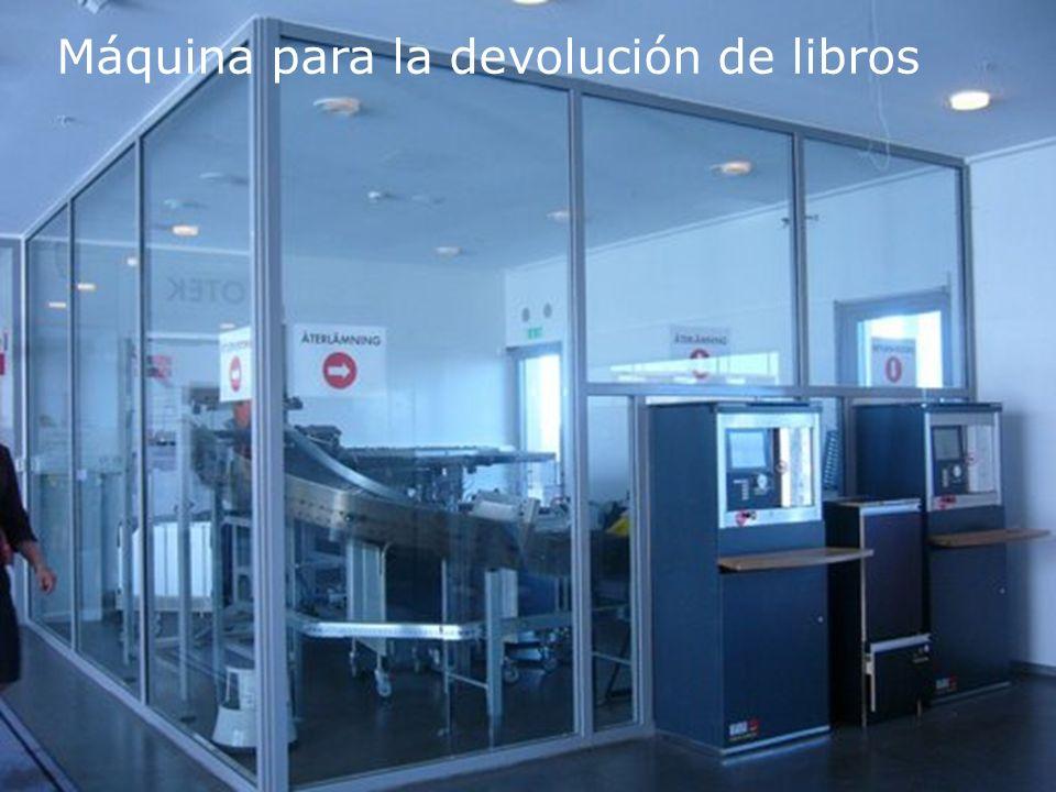 Biblioteca Universitaria Máquina para la devolución de libros