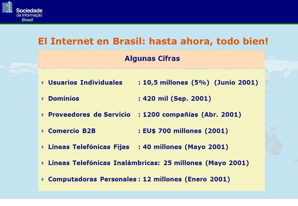 El Internet en Brasil: hasta ahora, todo bien.