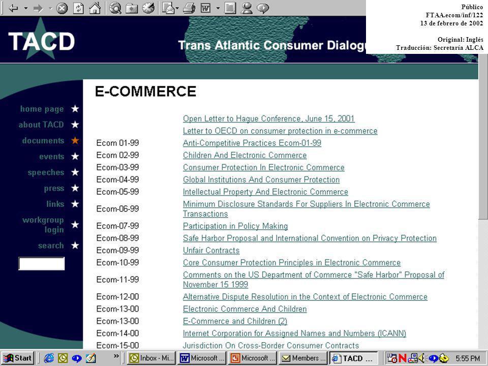 2 ¿Por qué pedir a los consumidores que se unan a las delegaciones gubernamentales.