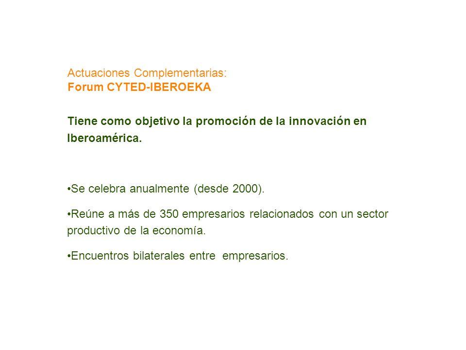 Tiene como objetivo la promoción de la innovación en Iberoamérica. Se celebra anualmente (desde 2000). Reúne a más de 350 empresarios relacionados con