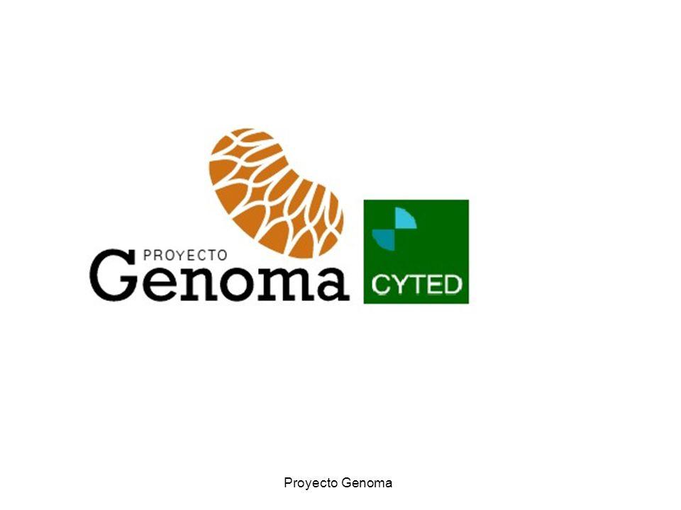 Proyecto Genoma Genoma - CYTED