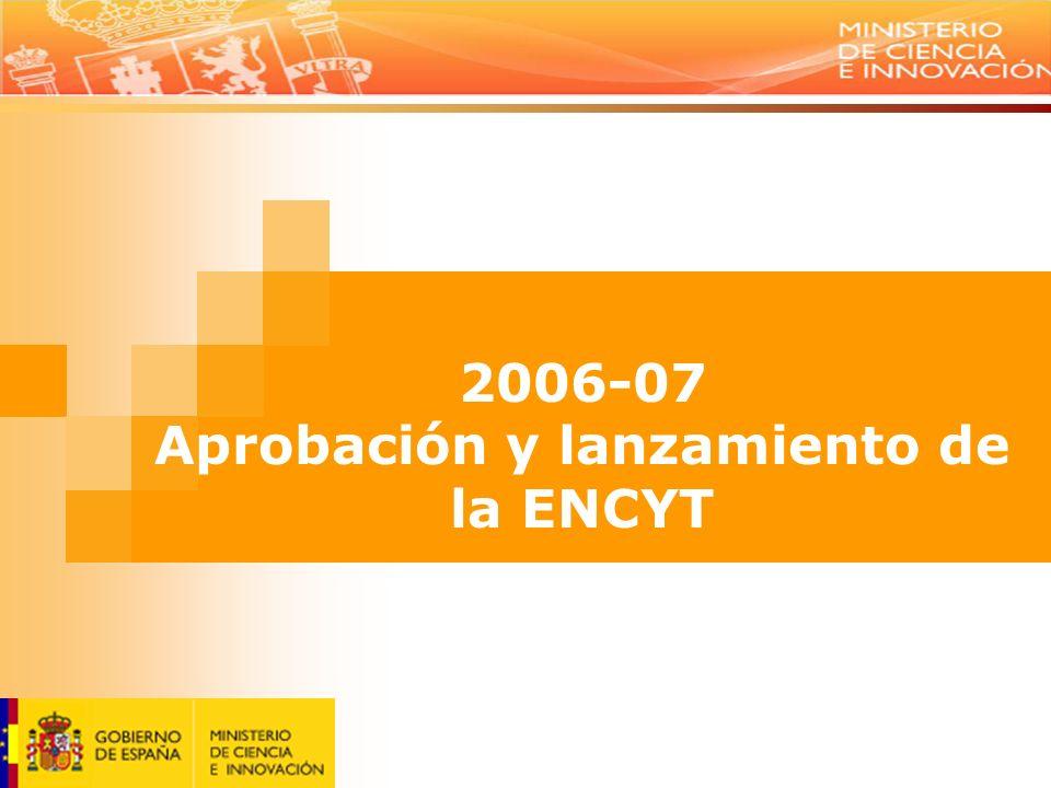 9 Situar a España en la vanguardia del conocimiento Promover un tejido empresarial altamente competitivo Desarrollar una política integral de ciencia, tecnología e innovación: la imbricación de los ámbitos regionales en el sistema Avanzar en la dimensión internacional como base para el salto cualitativo del sistema Conseguir un entorno favorable a la inversión en I+D+I Fomentar la cultura científica y tecnológica de la sociedad Objetivos de la ENCYT
