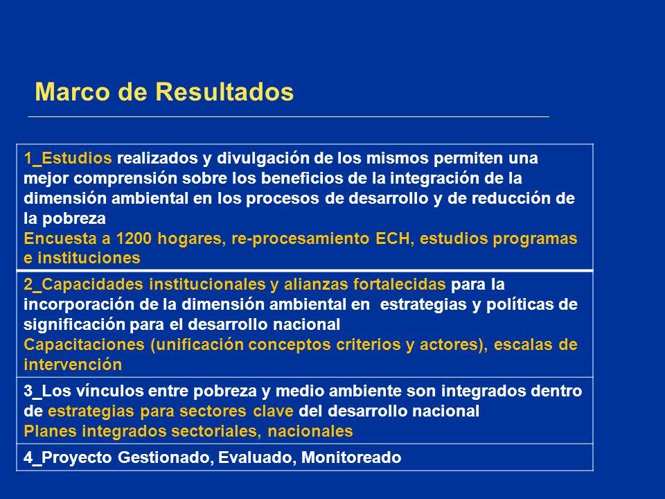 Marco de Resultados 1_Estudios realizados y divulgación de los mismos permiten una mejor comprensión sobre los beneficios de la integración de la dime