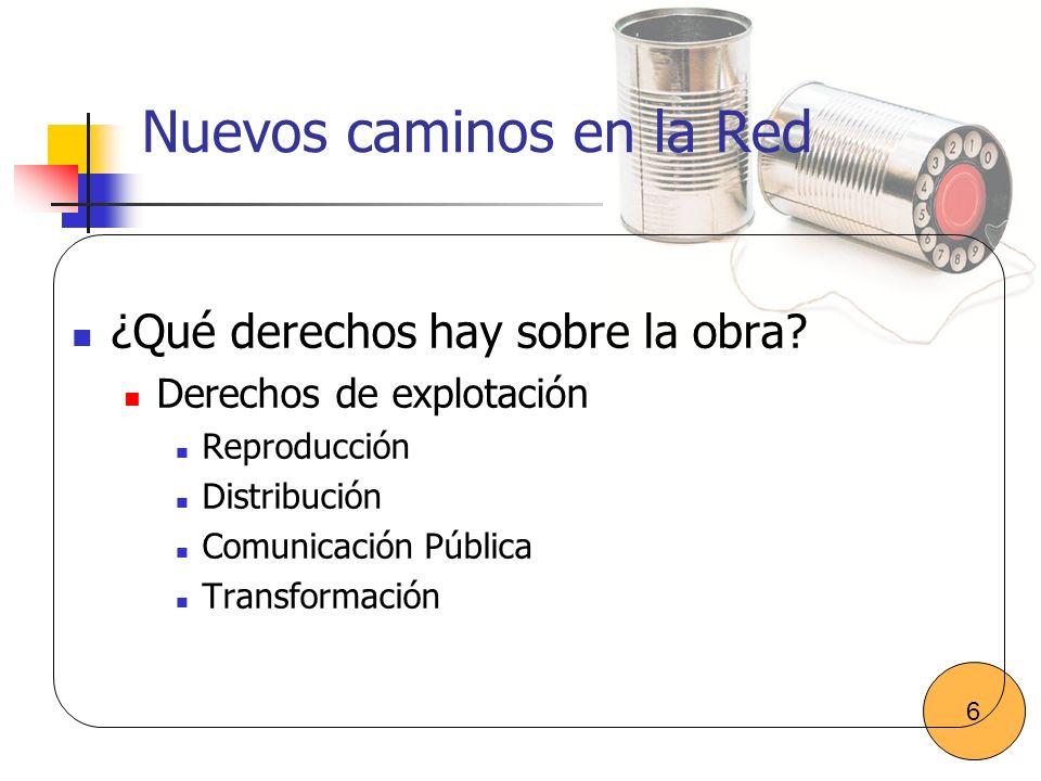 Nuevos caminos en la Red Creación Distribuida Aparece una nueva figura: El prosumidor (productor-consumidor).