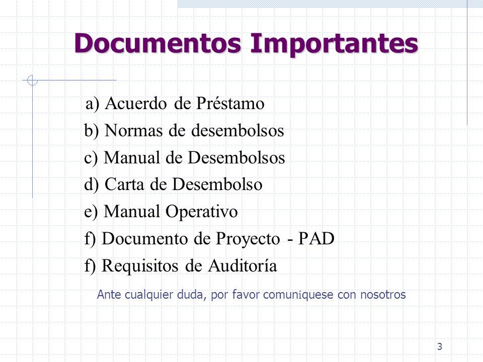 13 Propósito de la Cuenta Especial Agilizar el proceso Reducir el número de transacciones/documentos Mayor control Disponibilidad en moneda extrangera (Obs.