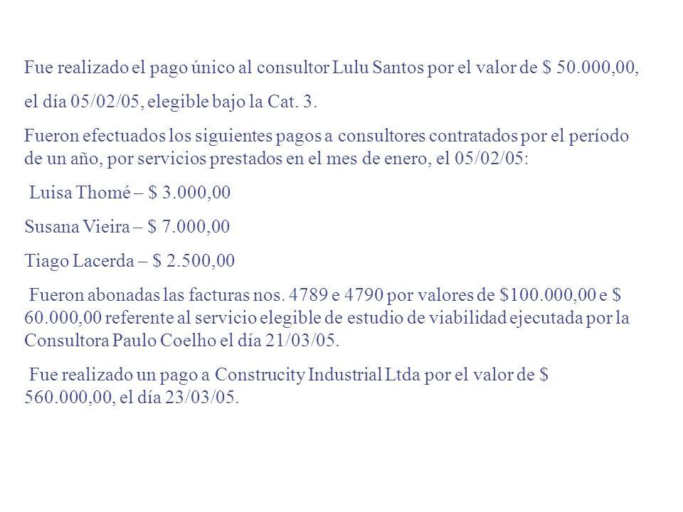 EXERCÍCIO IV – Observando el acuerdo de préstamo BIRF 7260-BR, prepare una solicitud de rrellenado de la cuenta especial sabiendo que: El proyecto ext