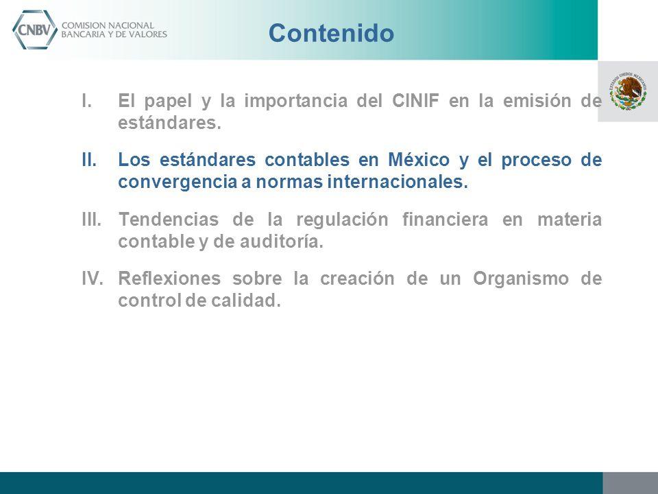 Antecedentes.- Reglas contables y de auditores La crisis de la economía mexicana de 1994 evidenció, entre otros aspectos, el notorio rezago en las reglas contables de los bancos.