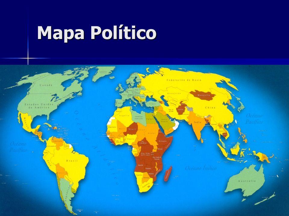Mapa Político Mapa político Mapa político