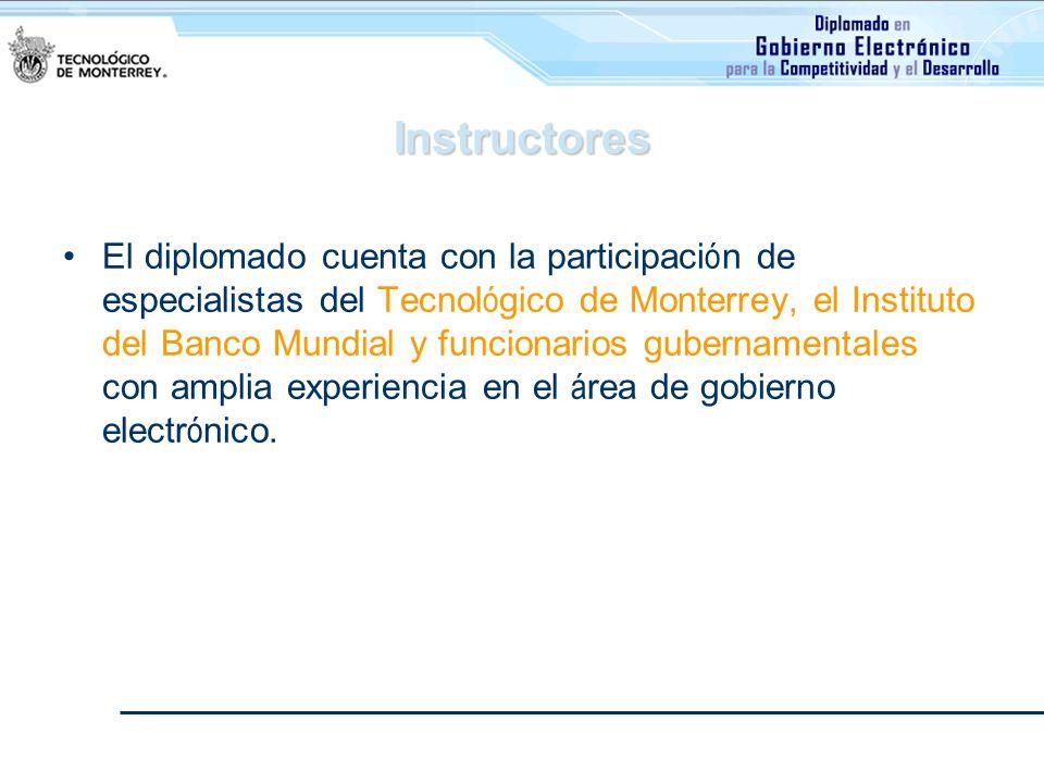 Duración El diplomado se conforma por 100 horas de instrucción, divididas en 14 semanas.
