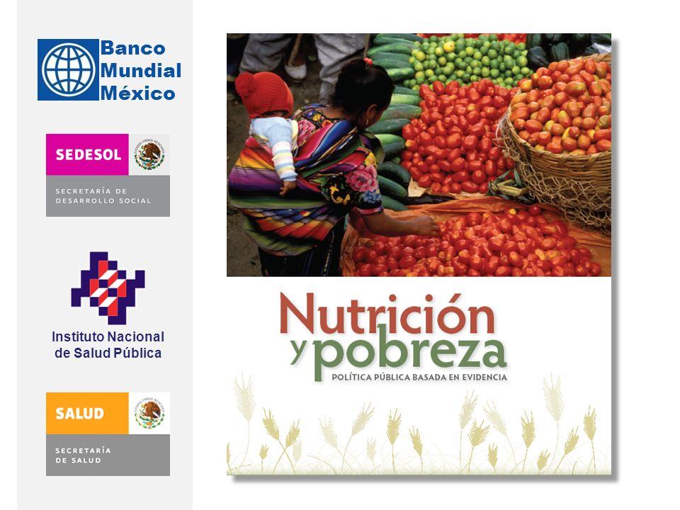 Banco Mundial México Instituto Nacional de Salud Pública