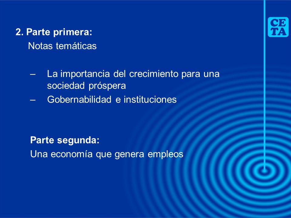 –Manteniendo un marco macroeconómico apropiado para un crecimiento sostenible –Hacia una política tributaria más eficiente –La sostenibilidad fiscal y el manejo de la deuda pública –La prestación de servicios públicos: el uso de concesiones y asociaciones público-privadas ESTABILIDAD MACROECONÓMICA