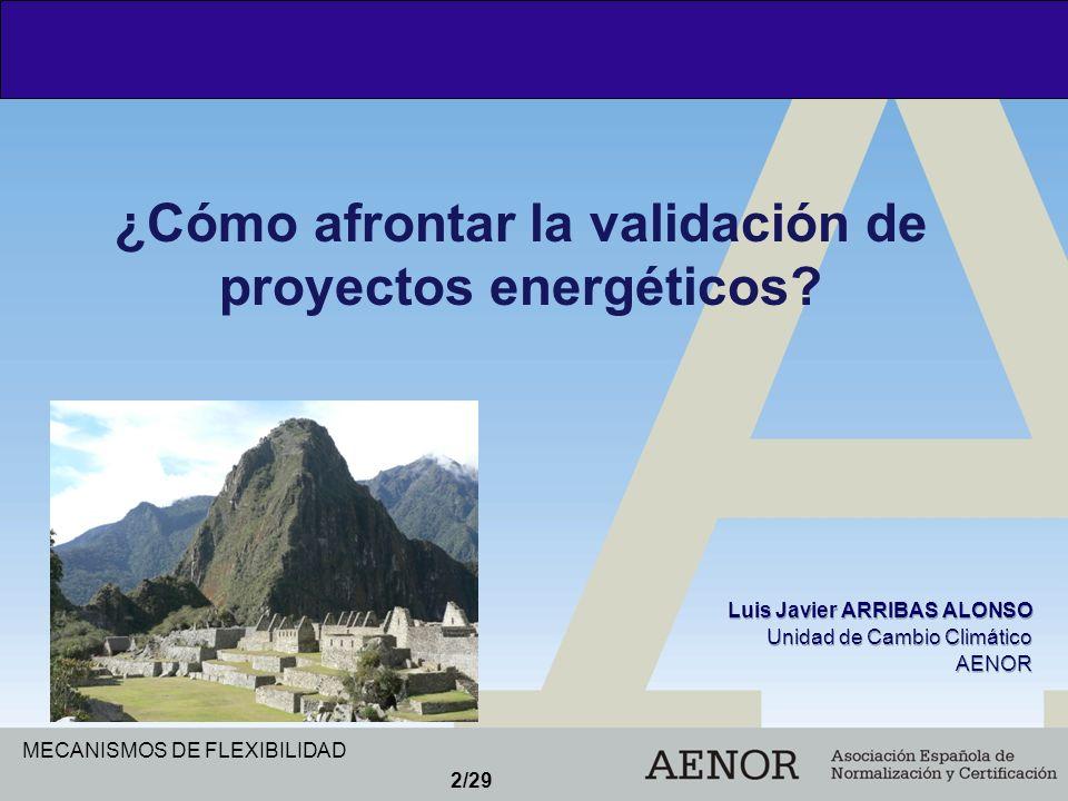 2/29 ¿Cómo afrontar la validación de proyectos energéticos?