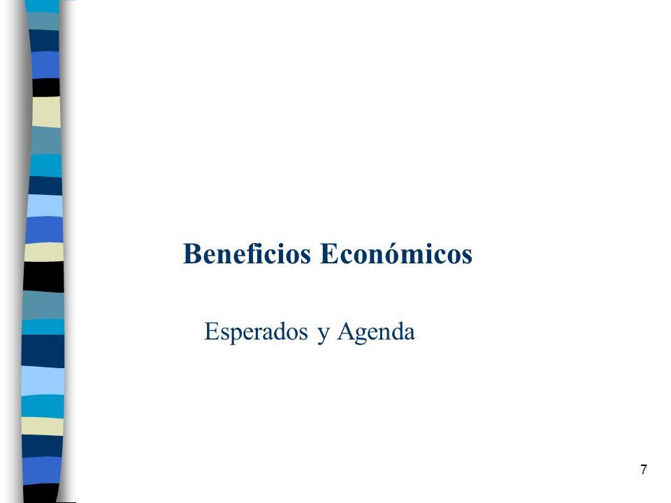 7 Beneficios Económicos Esperados y Agenda