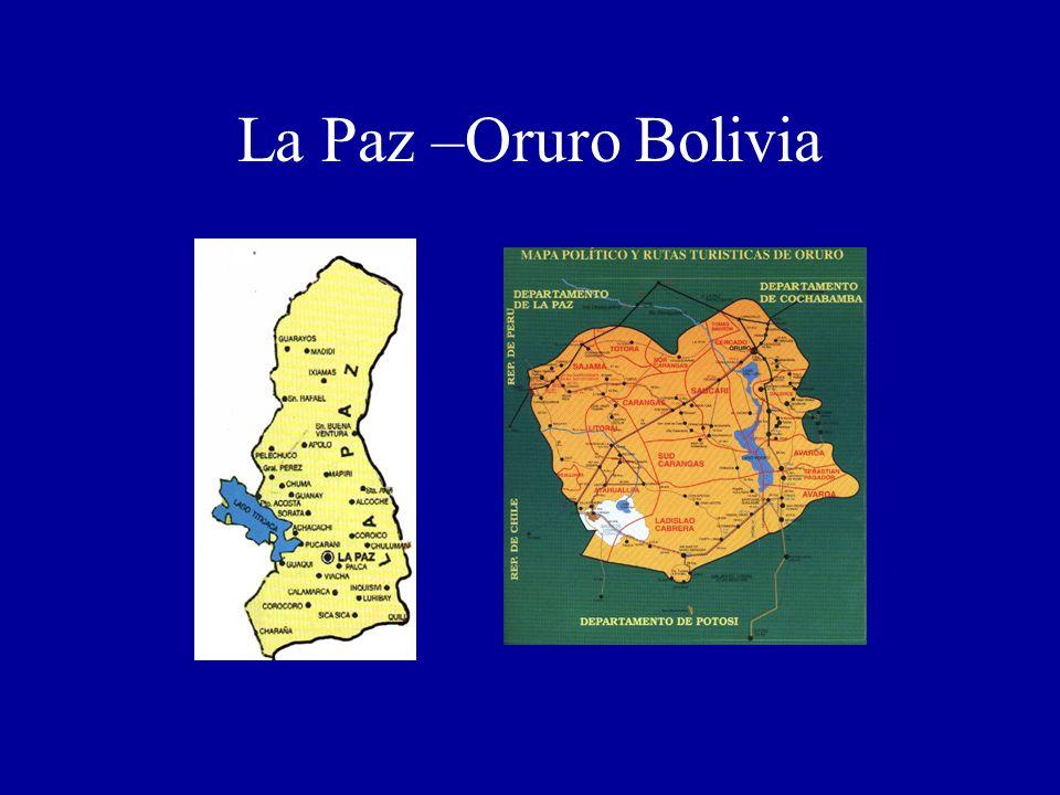 La Paz –Oruro Bolivia