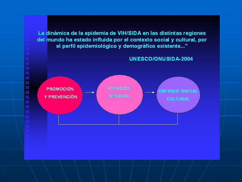 RETOS DEL PNSIDA 2006: CAMBIO DE ESTRATEGIA RETOS DEL PNSIDA 2006: CAMBIO DE ESTRATEGIA Menos del 15% del gasto está asignado a Promoción y prevención PROMOCIÓN Y PREVENCIÓN CURACIÓN TRATAMIENTO Y REHABILITACIÓN CURACIÓN TRATAMIENTO Y REHABILITACIÓN PROMOCIÓN Y PREVENCIÓN Invertir la pirámide hará sostenible las intervenciones en salud Gasto Inversión