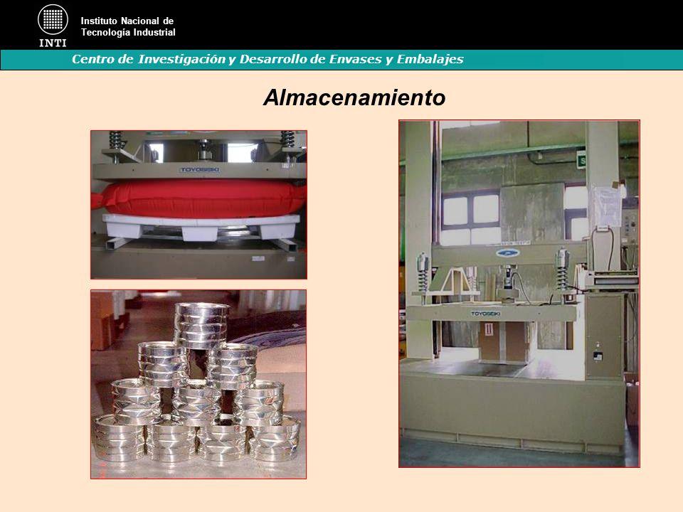 Instituto Nacional de Tecnología Industrial Centro de Investigación y Desarrollo de Envases y Embalajes Almacenamiento