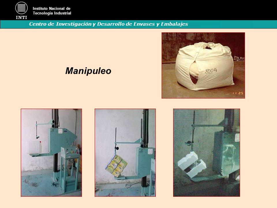 Instituto Nacional de Tecnología Industrial Centro de Investigación y Desarrollo de Envases y Embalajes Manipuleo