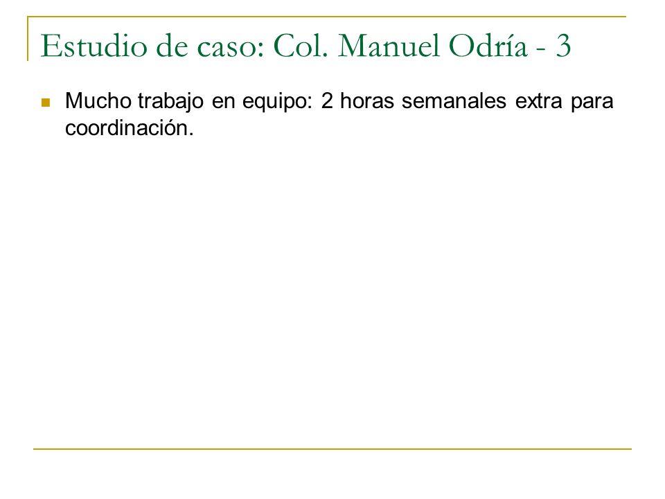 Estudio de caso: Col.