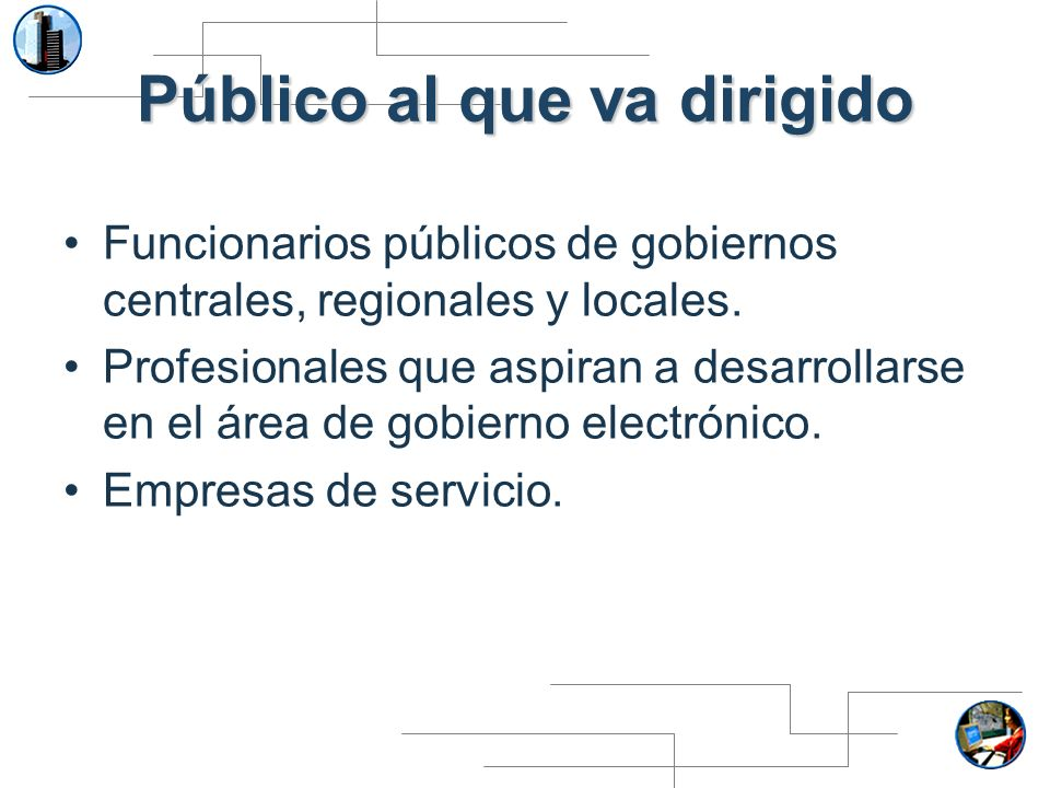 Módulo 6.Seguridad en proyectos de gobierno electrónico Tema 1.