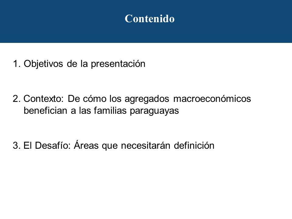 Contenido 1.Objetivos de la presentación 2.