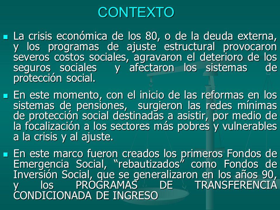 CORRESPONSABILIDAD PERU: para solucionar el problema de la oferta de servicios públicos, el 30% del presupuesto del programa es destinado en partes iguales para las áreas de salud, educación e identificación (10% para cada sector).