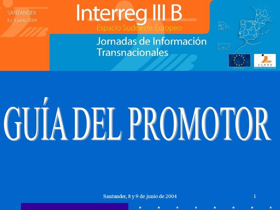 Santander, 8 y 9 de junio de 20041