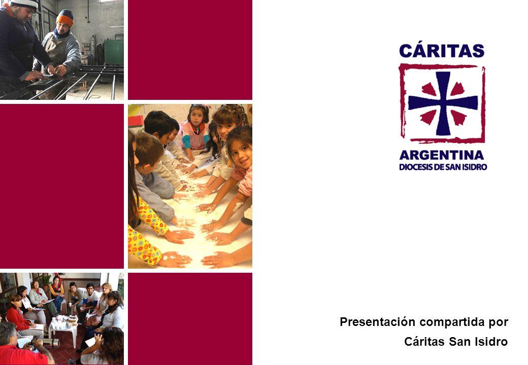 Presentación compartida por Cáritas San Isidro