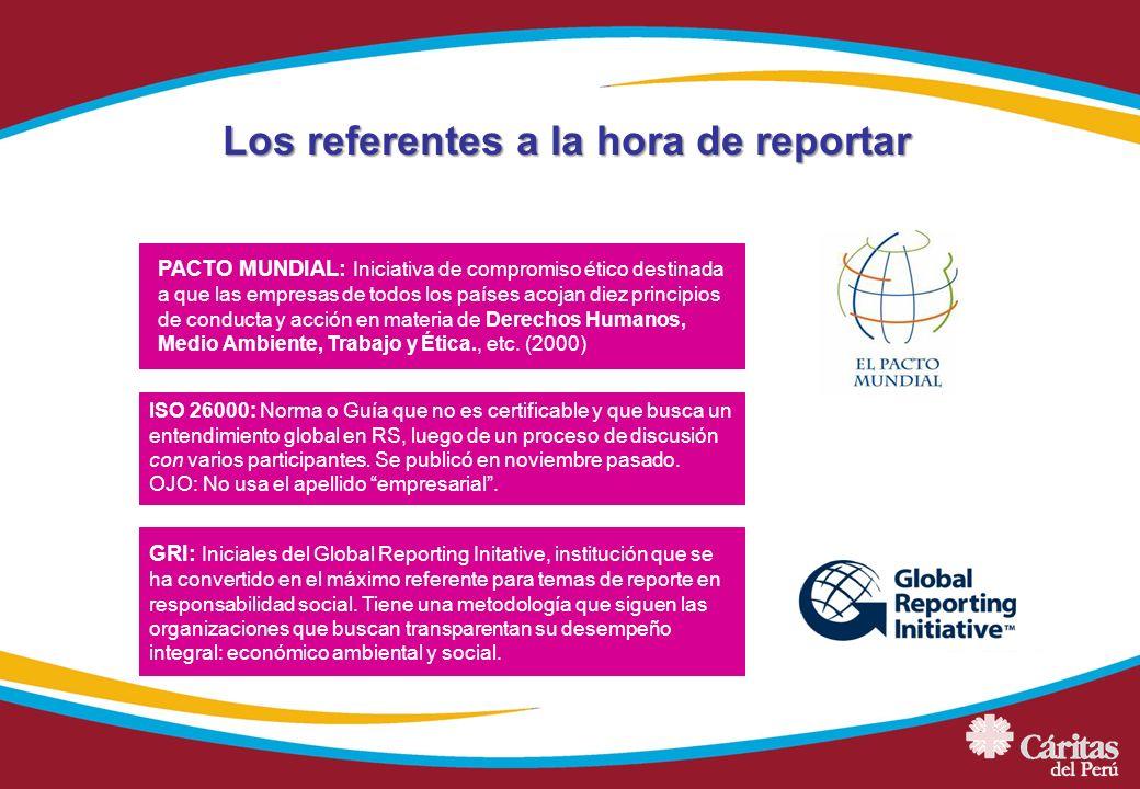 PACTO MUNDIAL: Iniciativa de compromiso ético destinada a que las empresas de todos los países acojan diez principios de conducta y acción en materia