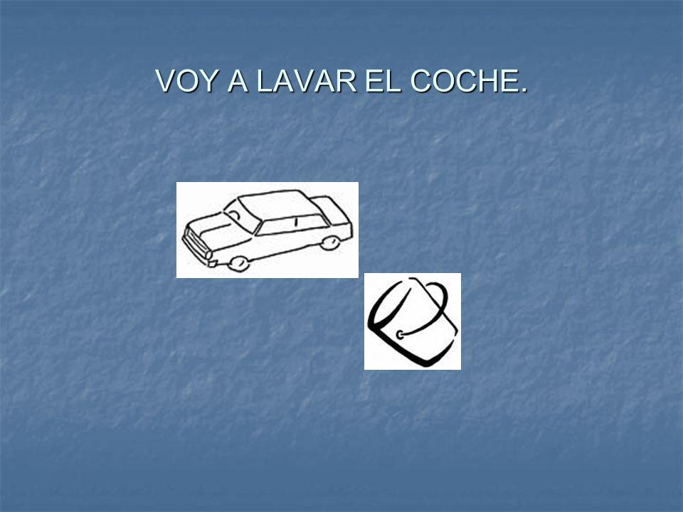 VOY A LAVAR EL COCHE.