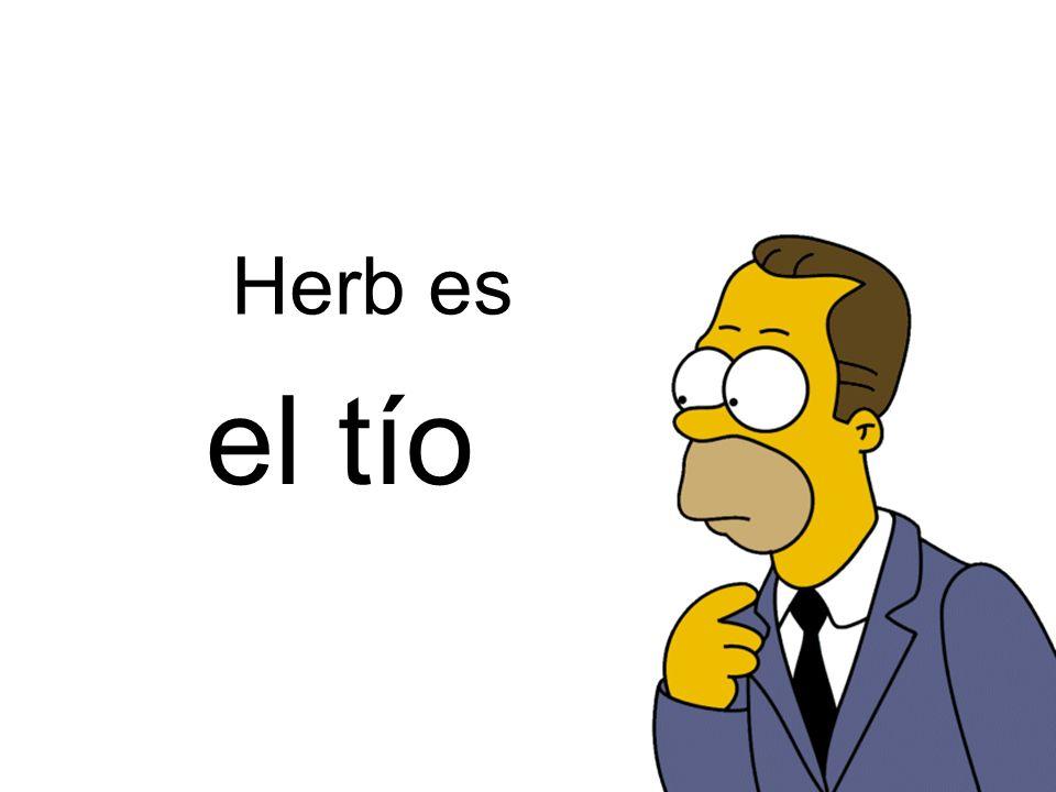 el tío Herb es