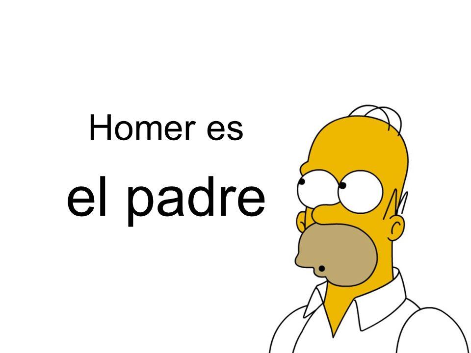 el marido Homer es de Marge