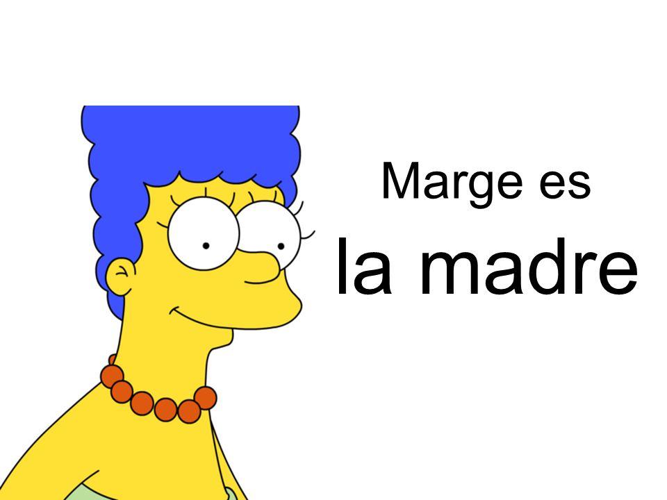 la mujer Marge es de Homer
