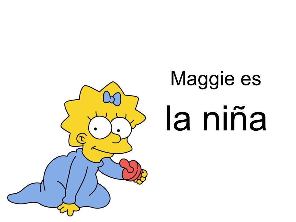 la niña Maggie es