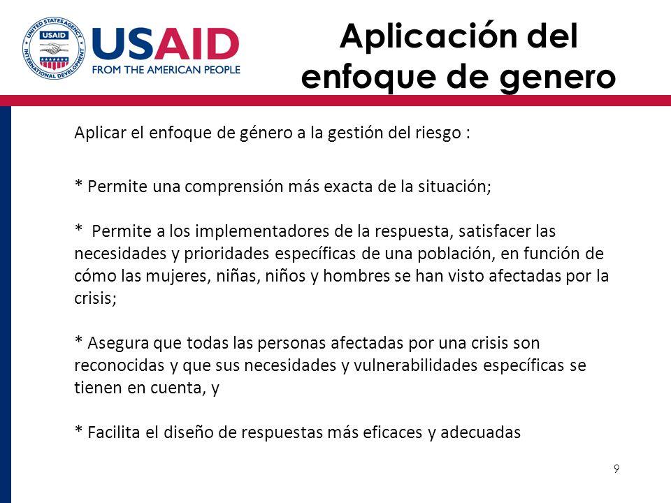 10 Avances en America Latina La Conferencia de Bogotá La IV Conferencia Internacional sobre Género y Desastres se celebró en Bogotá, Colombia en Mayo 2012.