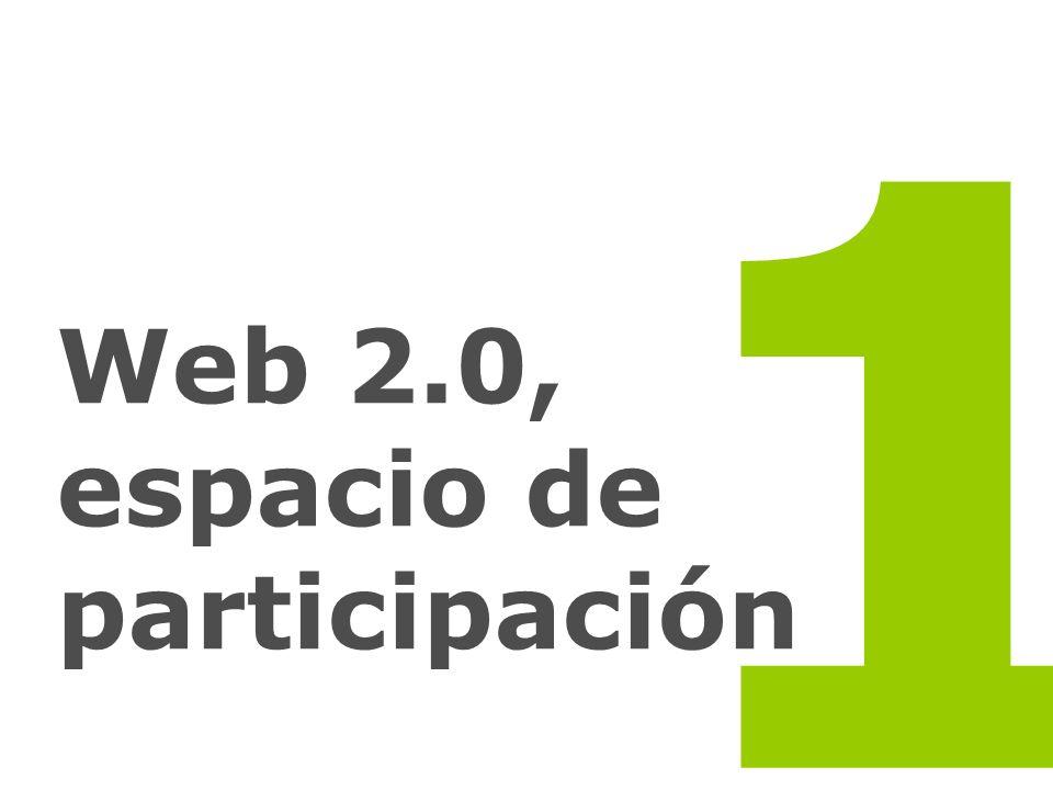 Web 2.0, espacio de participación 1