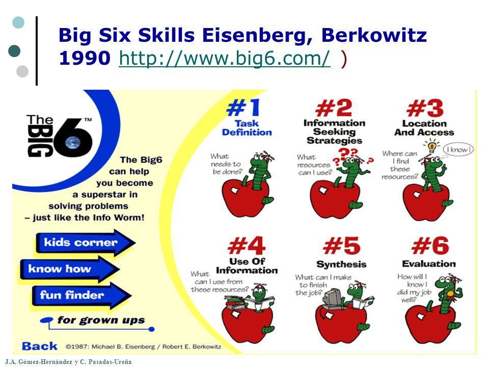 J.A. Gómez-Hernández y C. Pasadas-Ureña Big Six Skills Eisenberg, Berkowitz 1990 http://www.big6.com/ )http://www.big6.com/
