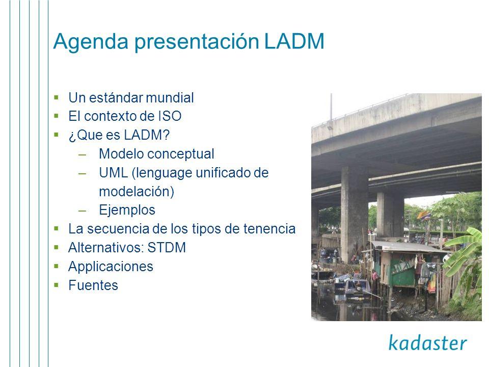 Alternativas Sistemas nacionales o regionales STDM (entorno de modelación para la tenencia social de tierras)