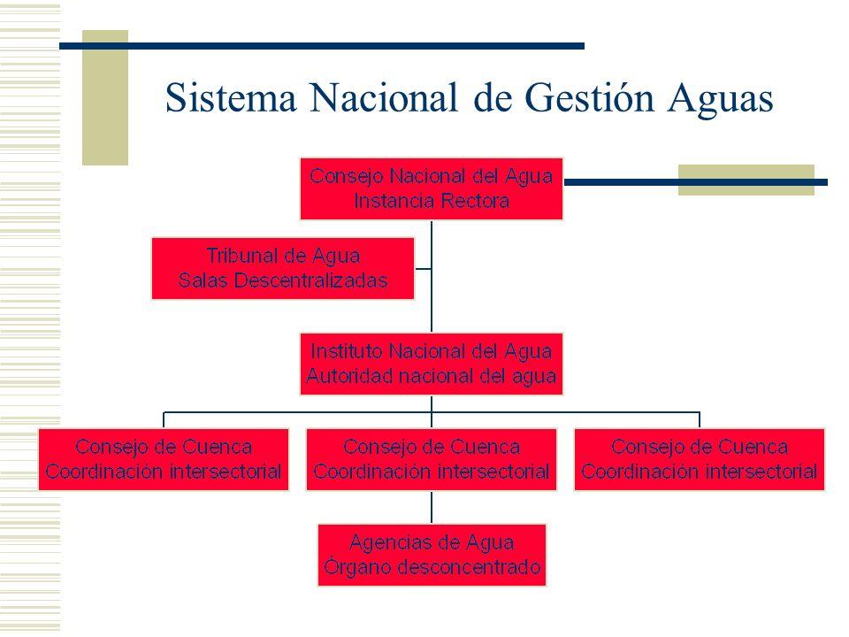Sistema Nacional de Gestión Aguas