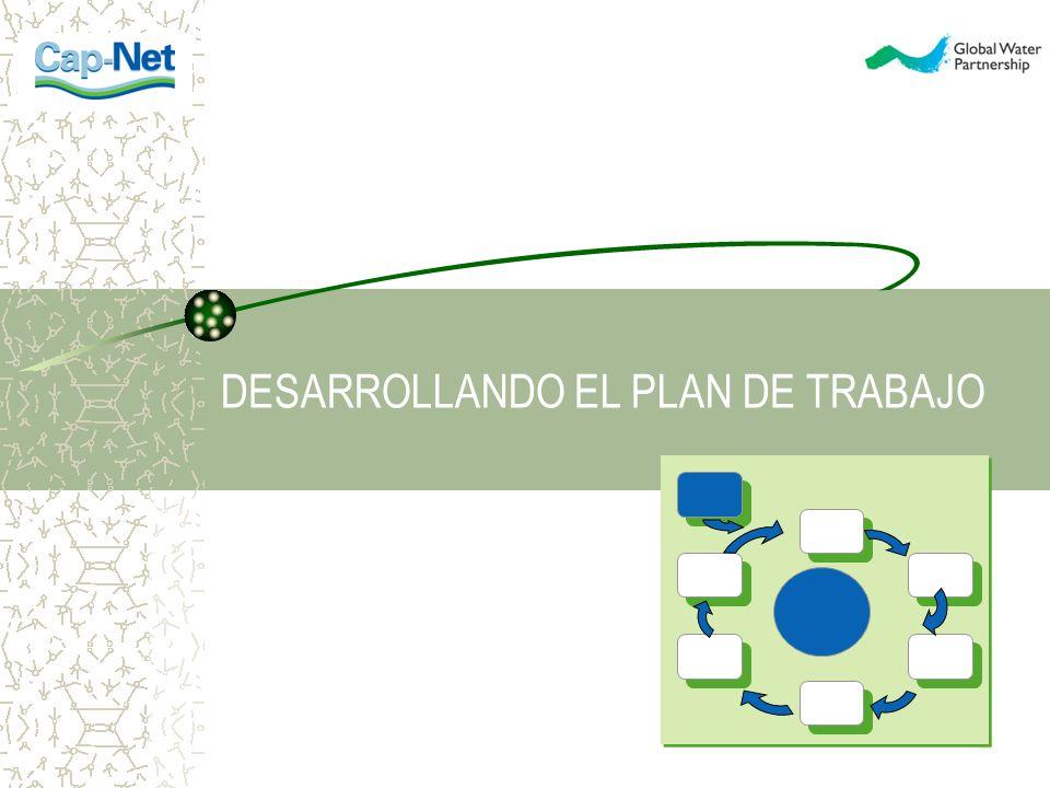 DESARROLLANDO EL PLAN DE TRABAJO