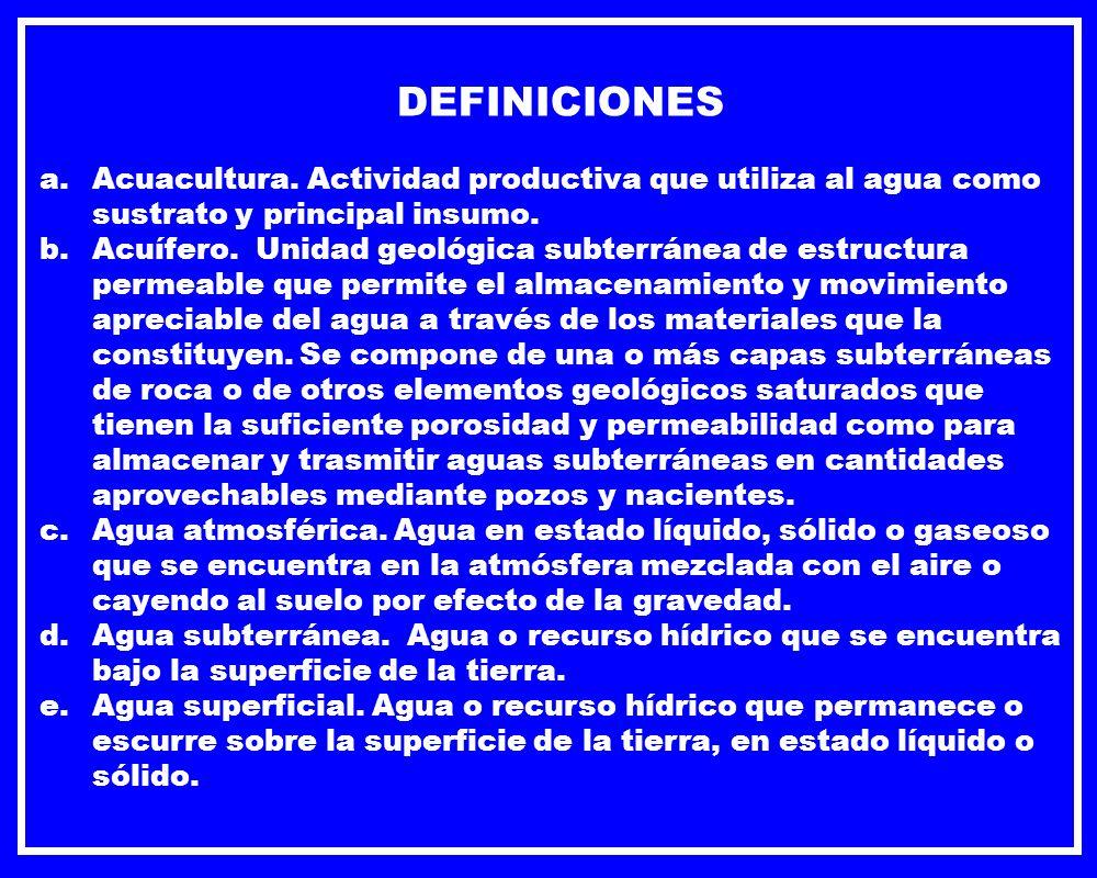 DEFINICIONES f.Agua.
