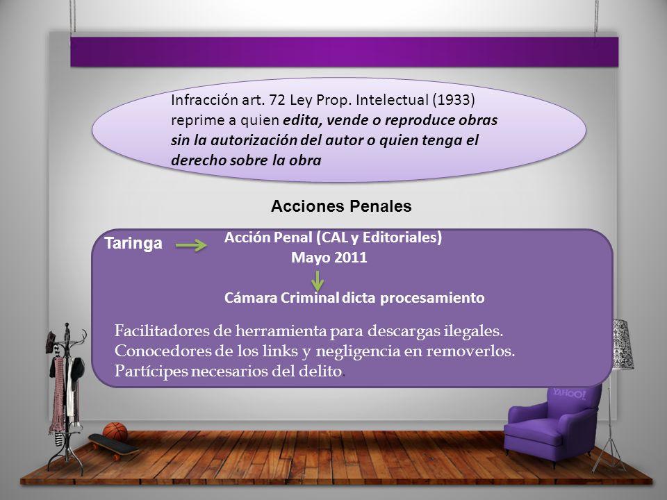 Infracción art. 72 Ley Prop.