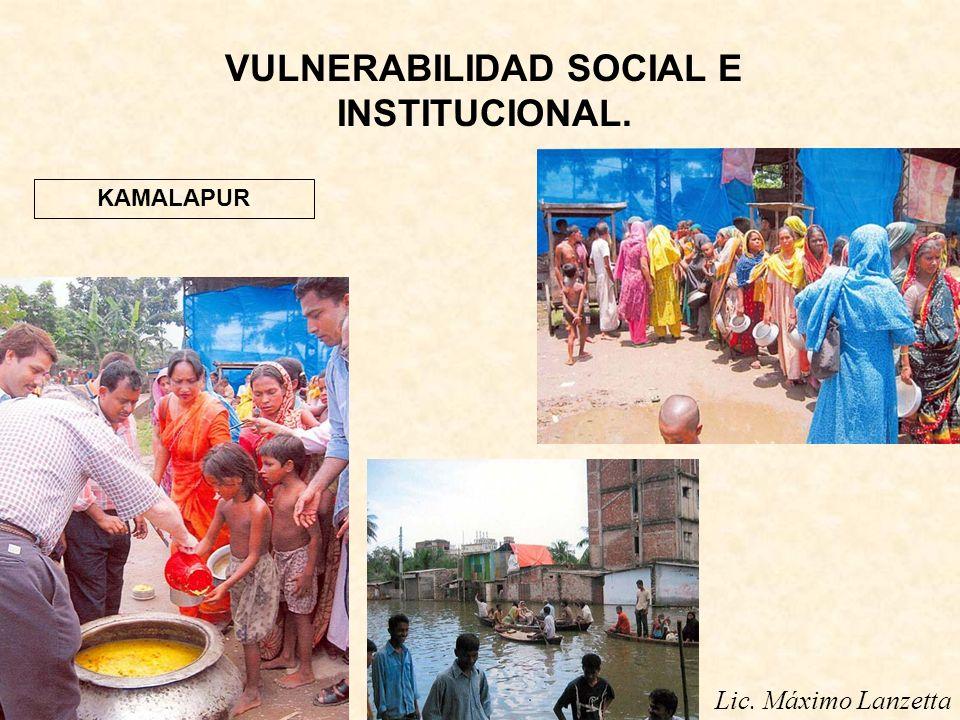 Lic. Máximo Lanzetta VULNERABILIDAD SOCIAL E INSTITUCIONAL. KAMALAPUR