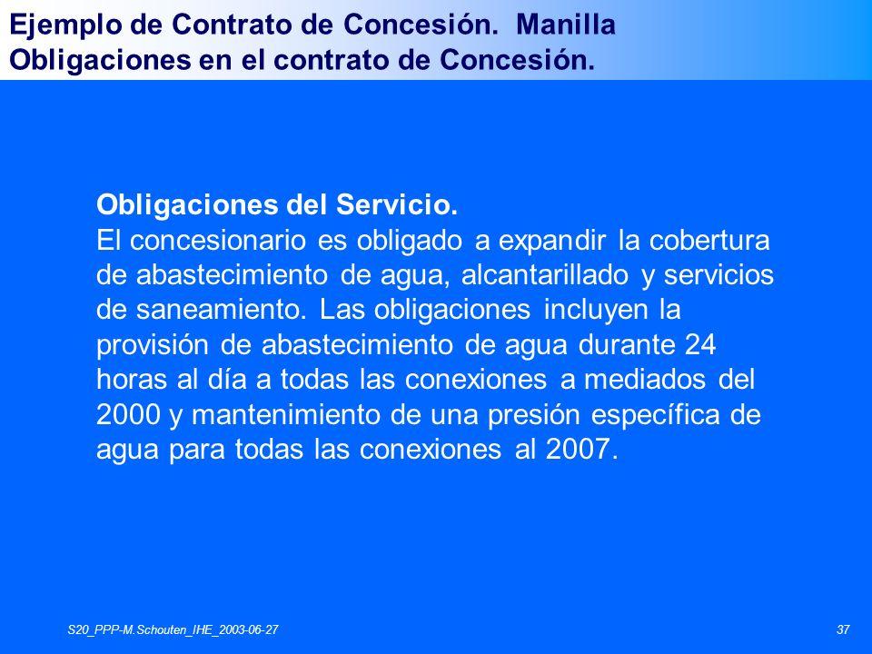 S20_PPP-M.Schouten_IHE_2003-06-2737 Obligaciones del Servicio.