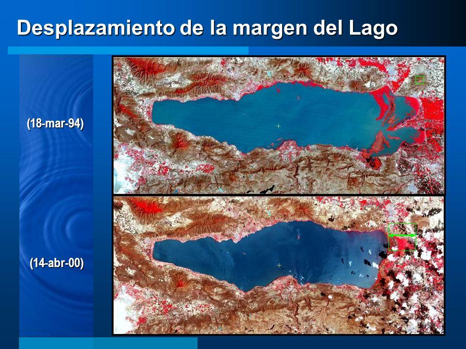 Desplazamiento de la margen del Lago (18-mar-94) (14-abr-00)