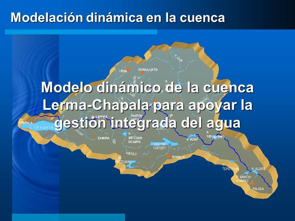 Modelo dinámico de la cuenca Lerma-Chapala para apoyar la gestión integrada del agua Modelación dinámica en la cuenca